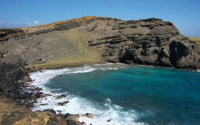 Hawaii Green Sand Beach