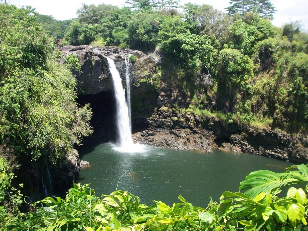 Rainbow Falls, near Hilo, HI