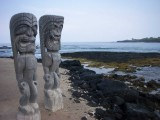 Honaunau Ki&#039;i Statues