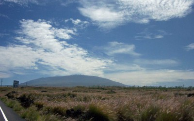 Mauna Kea in the Distance