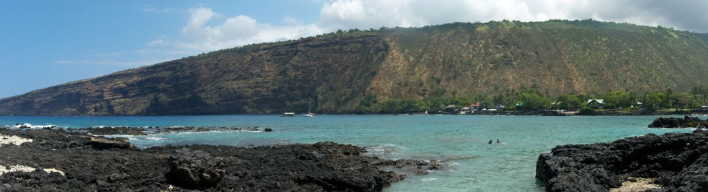 Kealakekua Bay from Manini Beach