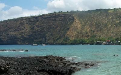 Kealakekua Bay from Manini Beach
