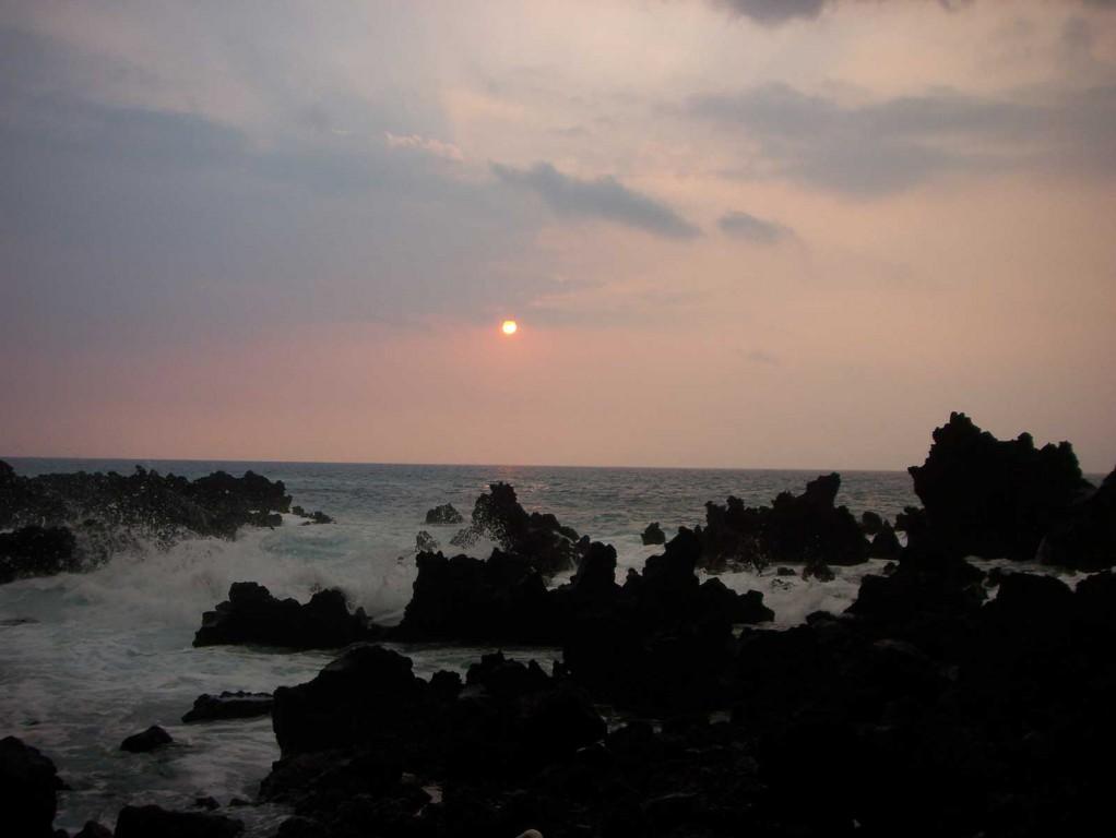 Manini Beach Sunset