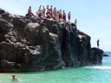 Waimea Bay Cliff Diving
