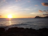 Waianae Ohau Sunset