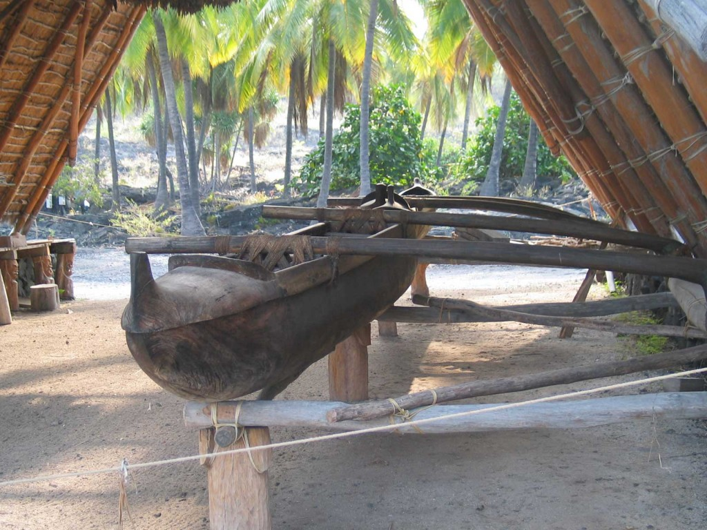 Traditional Wood Outrigger