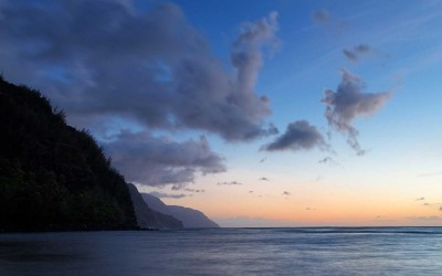 Na Pali Coast Sunset, Kauai