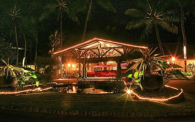 Hana Hotel at Night