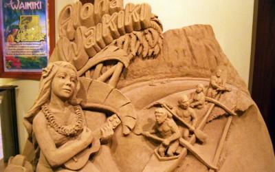 Sheraton Waikiki Sand Sculpture