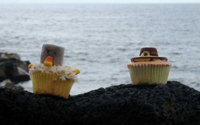 Hawaii Turkey Cupcakes