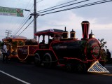Kona Coffe Days Parade Train