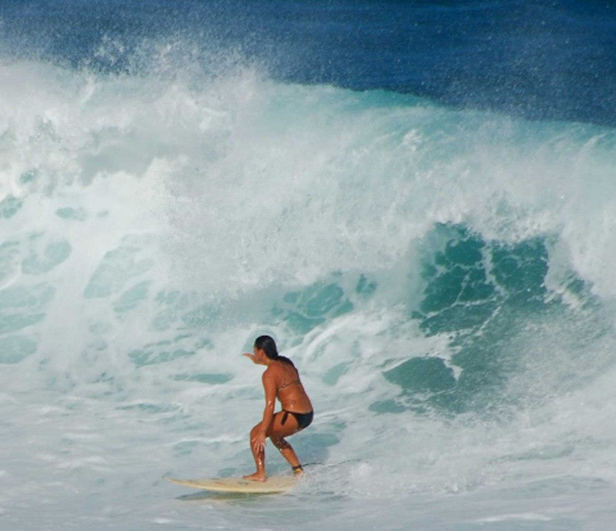 Maui Hookipa Surfer Girl