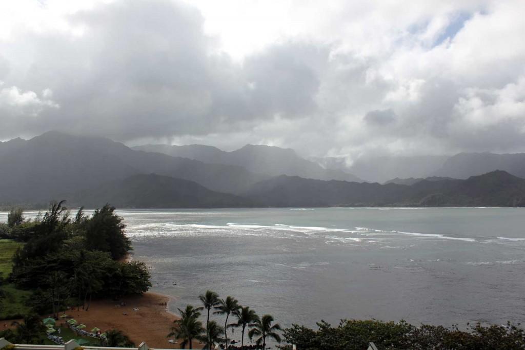 Hanalei Bay Kauai Overlook
