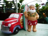 Hawaii Christmas Santa