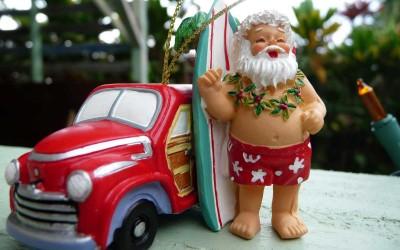 Hawaii Christmas Santa