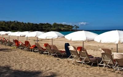 Mauna Kea Beach Hotel Beach Chairs
