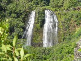 Opaekaa Falls, Kauai Waterfall