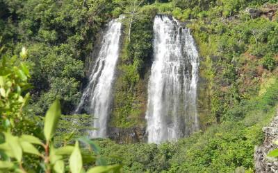 Opaekaa Falls, Kauai Waterfall