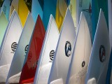 Surfboards at Sharks Cove North Shore, Oahu