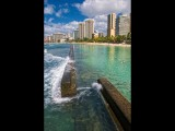 Honolulu Sea Wall View