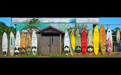 Paia Surfboard Wall