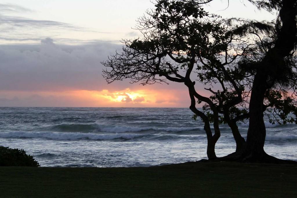 Sunrise On Kauai