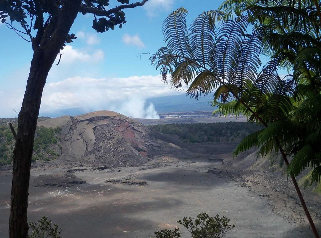 Dormant Volcano Crater Overlook