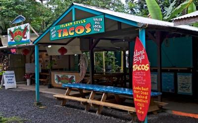 Nahiku Fish Tacos, Road to Hana