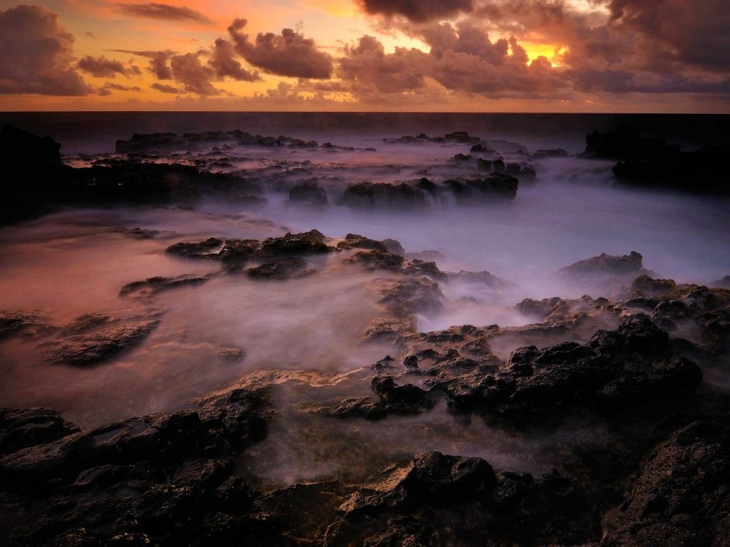 Mokolea Lava Pools Kauai