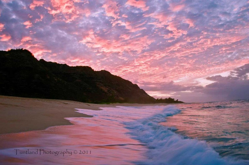 Oahu Beach Sunrise, Heaven on Earth
