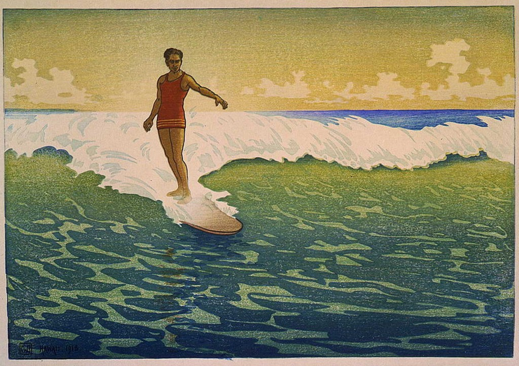 Hawaii Honolulu Surfer, Bartlett