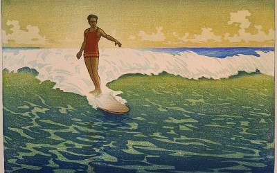 Hawaii Honolulu Surfer, Bartlett