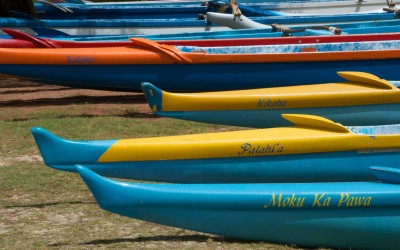 Lanikai Outrigger Canoes, Kailua Oahu
