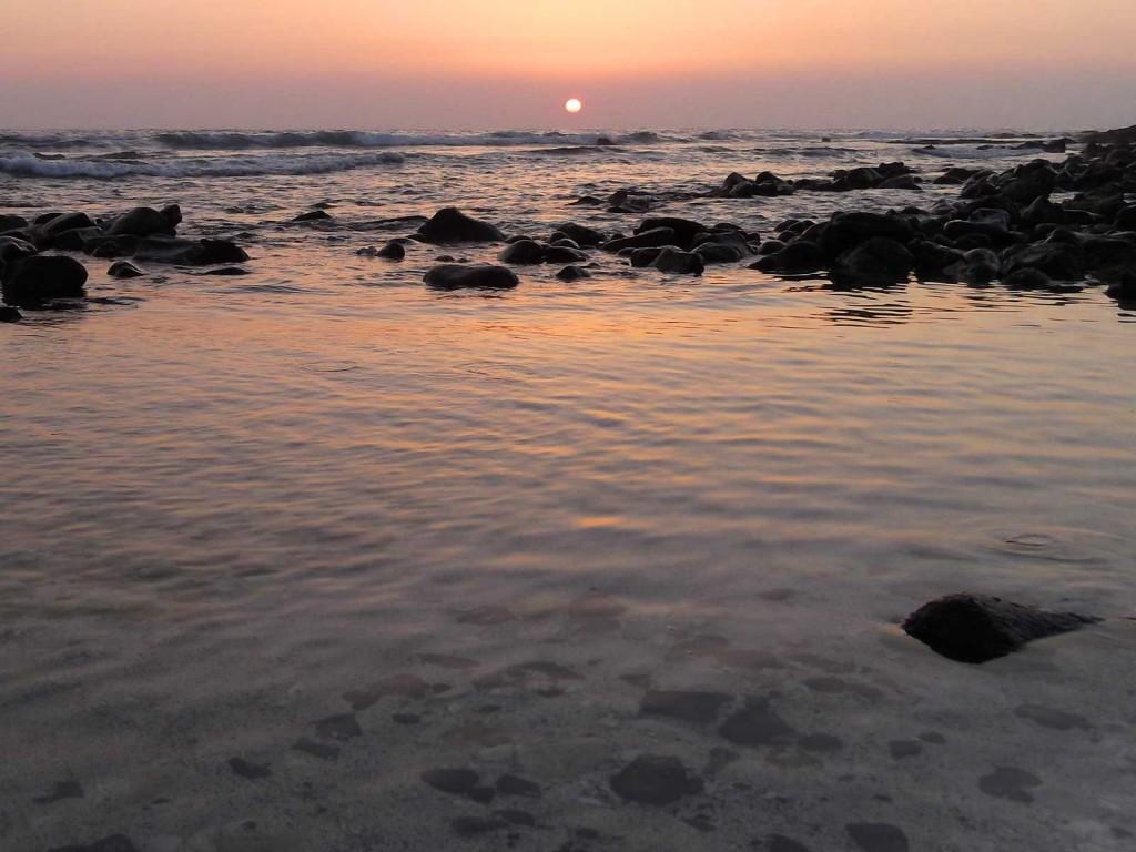 Wawaloli Beach Sunset