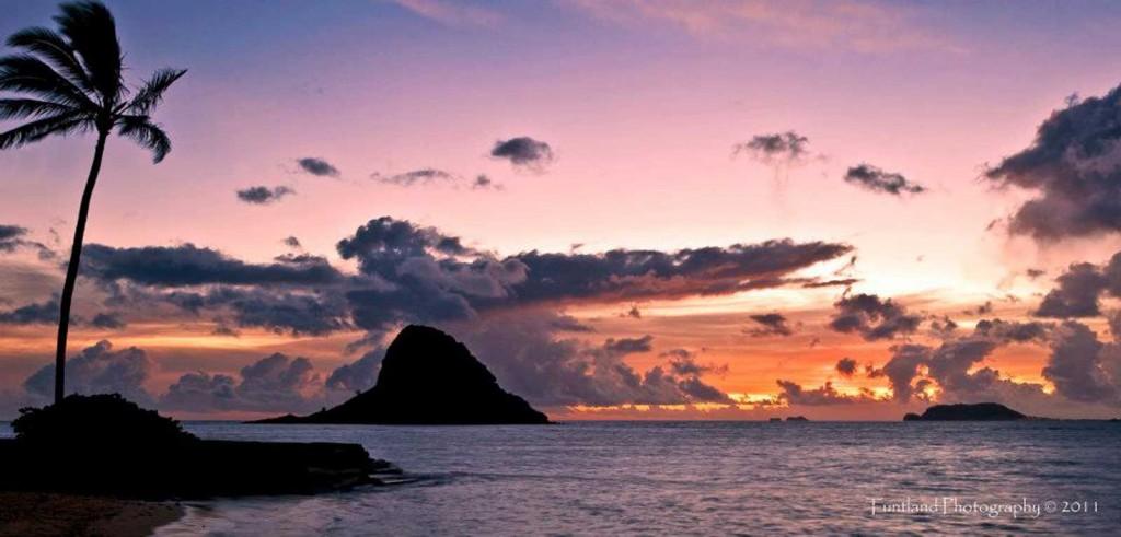 Soaring Over Mokolii, Chinaman's Hat, Oahu