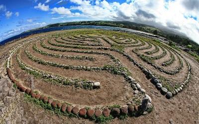Dragons Teeth Labyrinth, Maui