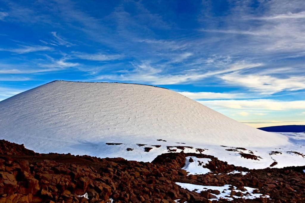 Snow Capped Mauna Kea, Hawaii