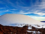 Snow Capped Mauna Kea, Hawaii