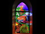 Saint Michael's Stained Glass, Kona Hawaii