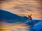 Surfer in Motion, Hawaii