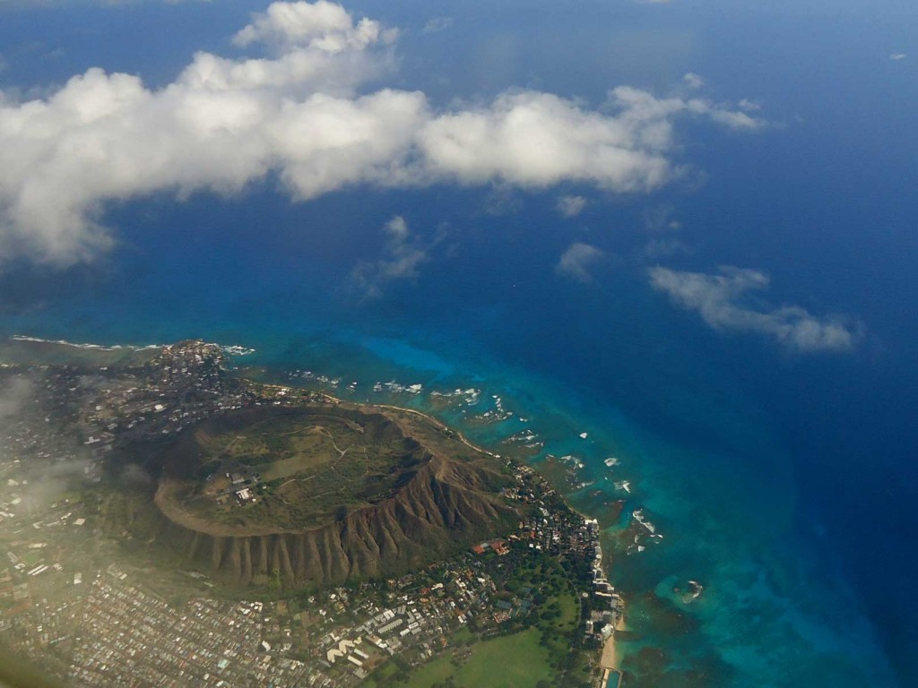 Diamond Head Overhead