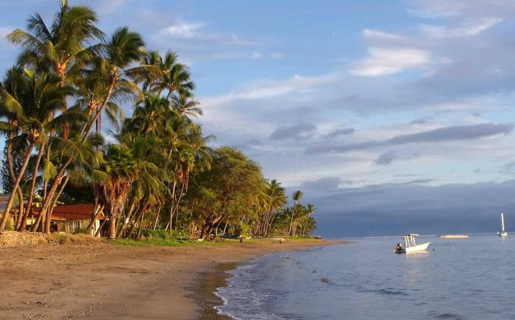 Lahaina Shoreline, Banyan Park, Maui