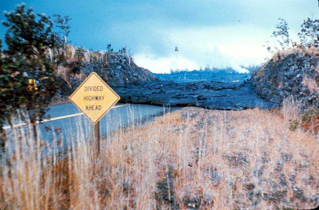 Lava Crossing Road