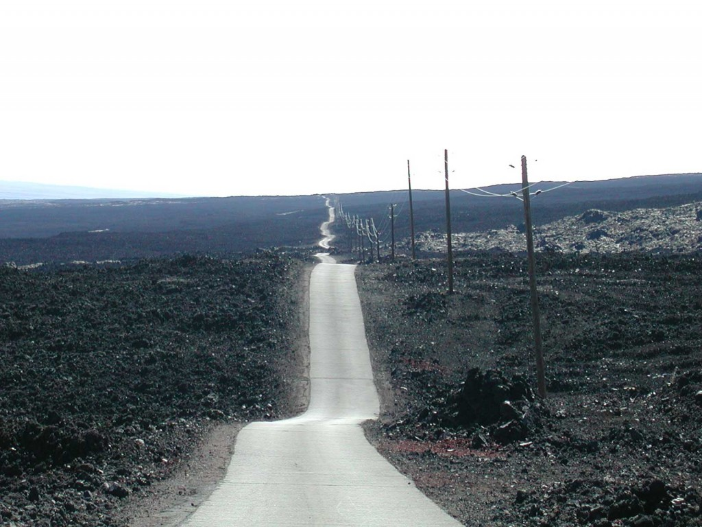 Mauna Loa Lava Road, Hawaii