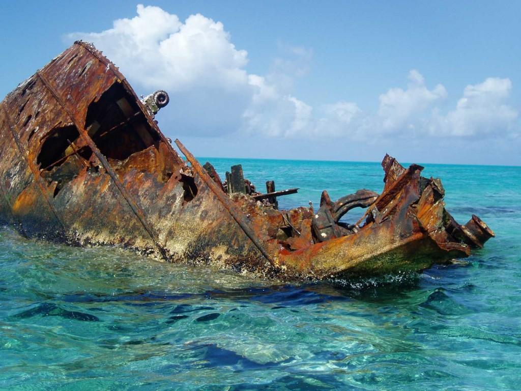 Hawaii Unnamed Shipwreck