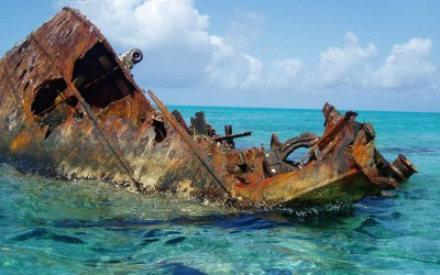 Hawaii Unnamed Shipwreck
