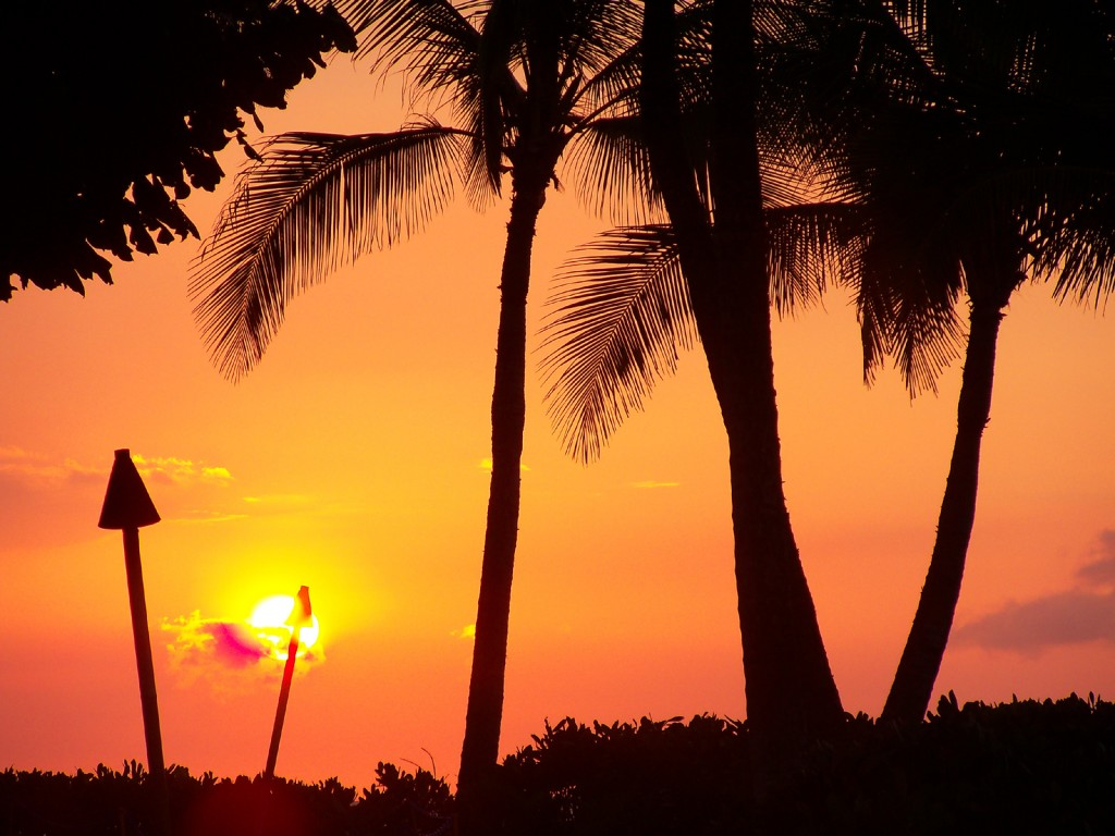 Hilton Waikoloa sunset