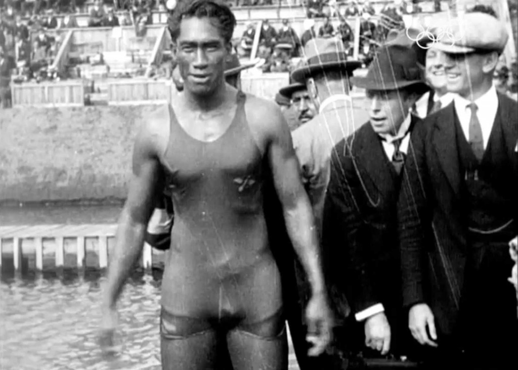 Duke Kahanamoku, Antwerp 1920
