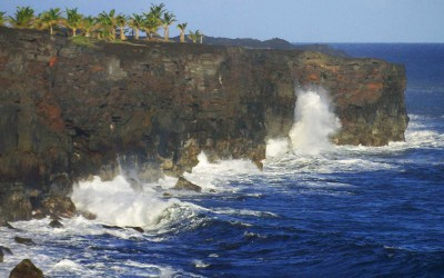 Puna South Shore Cliffs, Hawaii