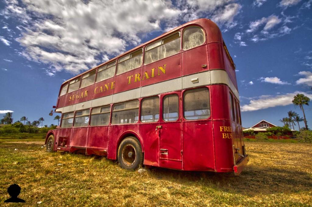 Sugar Cane Double Decker Bus